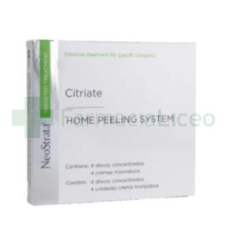 NEOSTRATA TARGETED CITRIATE HOME PEELING SYSTEM 4 DISCOS
