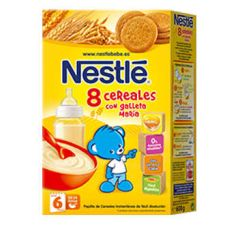 NESTLE PAPILLA 8 CEREALES GALLETA MARIA 600 G