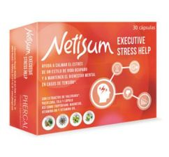 NETISUM EXECUTIVE STRESS HELP 30 CAPS
