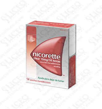 NICORETTE CLEAR 15 MG/16 H 14 PARCHES TRANSDERMI