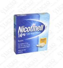 NICOTINELL 14 MG/24 H 28 PARCHES TRANSDERMICOS 3