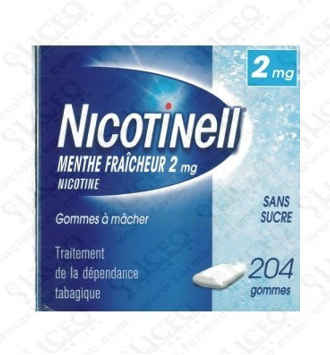 NICOTINELL 2 MG 12 CHICLES MEDICAMENTOSOS