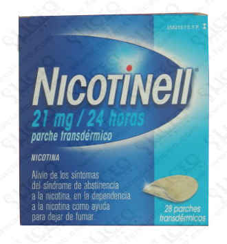 NICOTINELL 21 MG/24 H 14 PARCHES TRANSDERMICOS 5