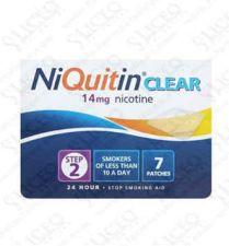 NIQUITIN CLEAR 14 MG/24 H 14 PARCHES TRANSDERMIC