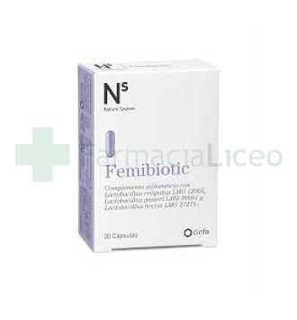 NS FEMIBIOTIC 30 CAPSULAS