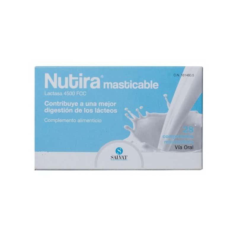 NUTIRA LACTASA 4500 FCC 28 COMPRIMIDOS MASTICABLES