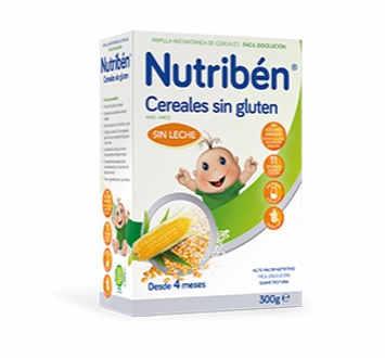 NUTRIBEN CEREALES SIN GLUTEN PAPILLA 300 GR