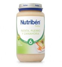 NUTRIBEN CREMA DE PATATA PUERRO Y ZANAHORIA POTITO 235 G