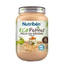 NUTRIBEN ECO POLLO CON VERDURAS SELECTAS POTITO