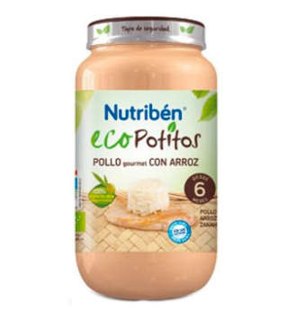 NUTRIBEN ECO POLLO GOURMENT ARROZ 250 GR