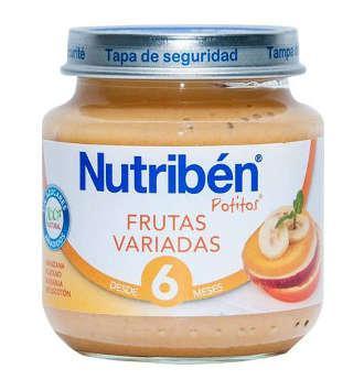 NUTRIBEN FRUTAS VARIADAS POTITO INICIO 130 GR