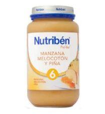 NUTRIBEN MANZANA MELOCOTON Y PIÑA POTITO GRANDOT