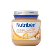 NUTRIBEN MANZANA NARANJA PLATANO Y GALLETA INICI