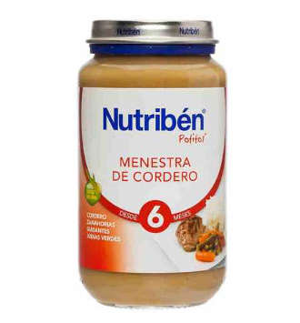 NUTRIBEN MENESTRA DE CORDERO POTITO GRANDOTE 250 GR