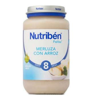 NUTRIBEN MERLUZA CON ARROZ POTITO GRANDOTE 250 GR