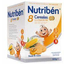 NUTRIBEN PAPILLA 8 CEREALES GALLETAS MARIA 300 G