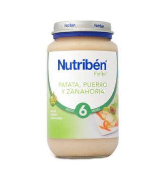 NUTRIBEN PATATA PUERRO ZANAHORIA POTITO GRANDOTE 250 GR
