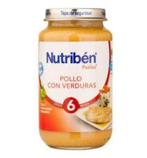 NUTRIBEN POLLO CON VERDURAS POTITO GRANDOTE 250
