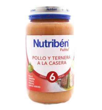 NUTRIBEN POLLO TERNERA VERDURA POTITO GRANDOTE 250 GR