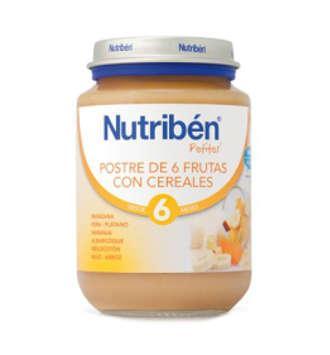 NUTRIBEN POSTRE DE 6 FRUTAS POTITO JUNIOR 200 GR