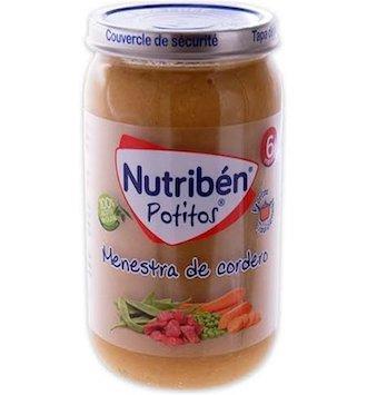 NUTRIBEN RECETAS TRADICIONALES MENESTRA DE CORDE POTITO 235 G