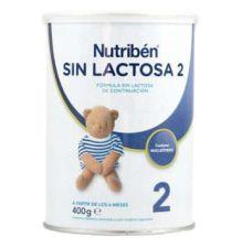 NUTRIBEN SIN LACTOSA 2 400 G 1 BOTE NEUTRO