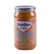 NUTRIBEN TERNERA CON JUDIAS VERDES Y ZANAHORIAS POTITO 235 G