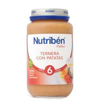 NUTRIBEN TERNERA CON PATATAS POTITO GRANDOTE 250 GR