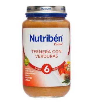 NUTRIBEN TERNERA CON VERDURA POTITO GRANDOTE 250 GR
