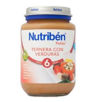 NUTRIBEN TERNERA CON VERDURA POTITO JUNIOR 200 GR