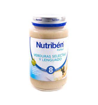 NUTRIBEN VERDURA SELECTA Y LENGUADO POTITO JUNIOR 200 GR