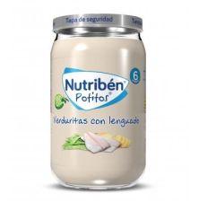 NUTRIBEN VERDURITAS CON LENGUADO POTITO 235 G