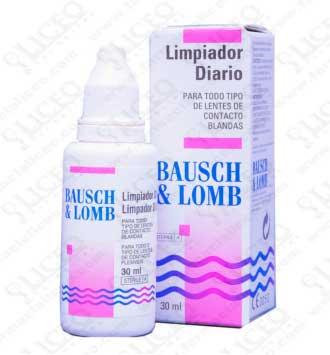 BAUSCH & LOMB LIMPIADOR DIARIO 30 ML