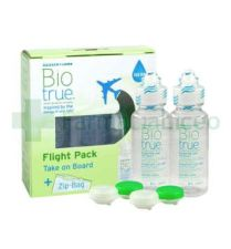 OL BIOTRUE SOLUCION UNICA FLIGHT PACK 60 ML 2 U