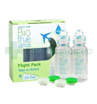BIOTRUE SOLUCION UNICA FLIGHT PACK 60 ML 2 UNIDADES