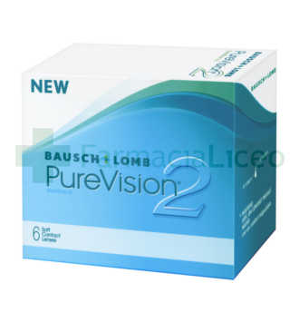BAUSCH & LOMB PURE VISION 2 6 UNIDADES