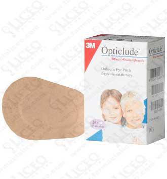 OPTICLUDE PARCHES OCULARES 1537 TALLA PEQUEÑA 6X5 CM 20 UNIDADES