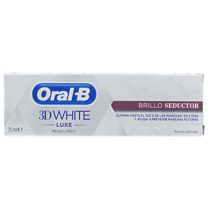 ORAL B 3D WHITE LUXE BRILLO SEDUCTOR 75 ML