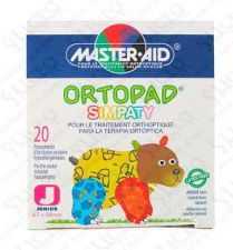 ORTOPAD SIMPATY PARCHES OCULARES T- JUNIOR (- 2