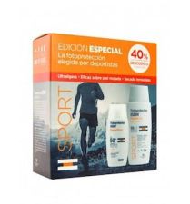 PACK SPORT FOTOPROTECTOR ISDIN FUSION SPF50+ GEL