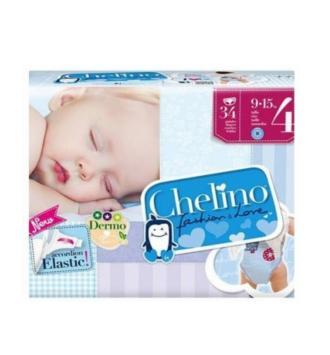 PAÑAL INFANTIL CHELINO FASHION & LOVE T- 4 (9 -