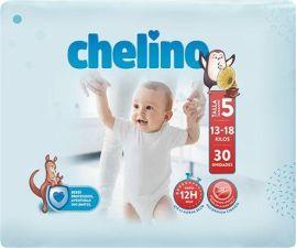 PAÑAL INFANTIL CHELINO  T- 5 (13 -18 kg) 30 UNIDADES