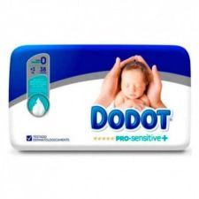 PAÑAL INFANTIL DODOT PRO SENSITIVE T- 0 <3 KG 38