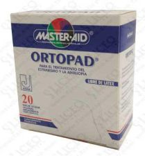 PARCHES OCULARES MASTER AID ORTOPAD JUNIOR 20 PA