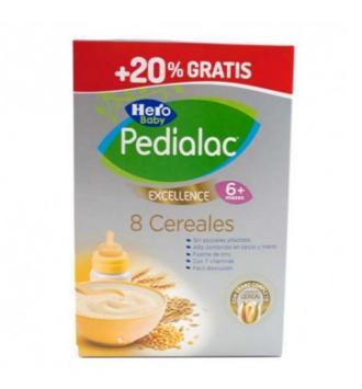 PEDIALAC PAPILLA 8 CEREALES HERO BABY 600 G + 20