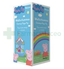 PEPPA GUMMIES MULTIVITAMINAS 30 GOMAS MASTICABLE