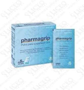 PHARMAGRIP 10 SOBRES POLVO SUSPENSION ORAL
