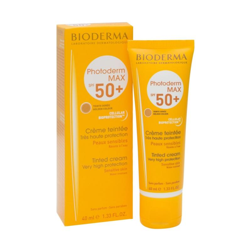PHOTODERM MAX SPF 50+ CREMA COLOR DOREE BIODERMA 40 ML