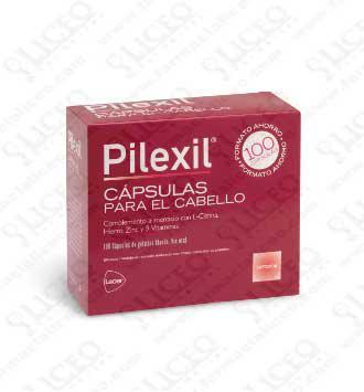 PILEXIL COMPLEMENTO NUTRICIONAL PARA CABELLO 100 CÁPSULAS
