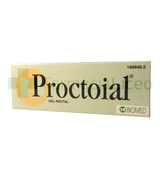 PROCTOIAL GEL HEMORROIDAL CON APLICADOR 30 ML